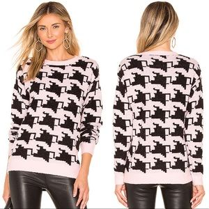 Lovers + Friends Revolve Basset Pink Sweater